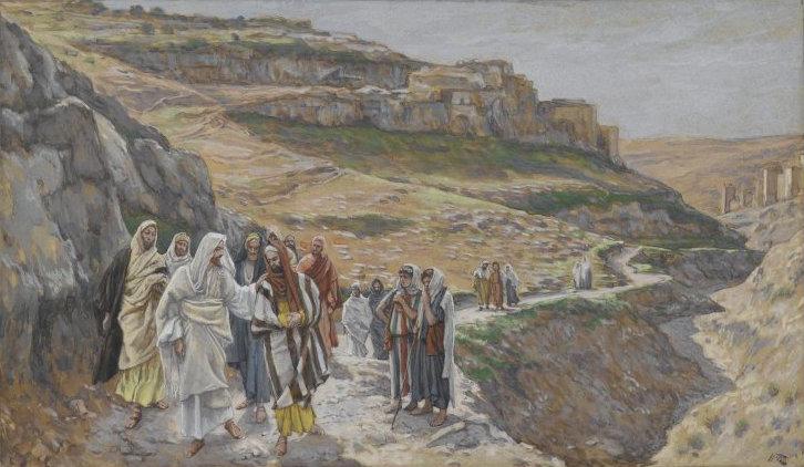 File:Brooklyn Museum - Jesus Discourses with His Disciples (Jésus s'entretient avec ses disciples) - James Tissot.jpg