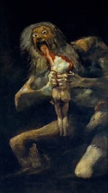 Image result for saturn devouring his son