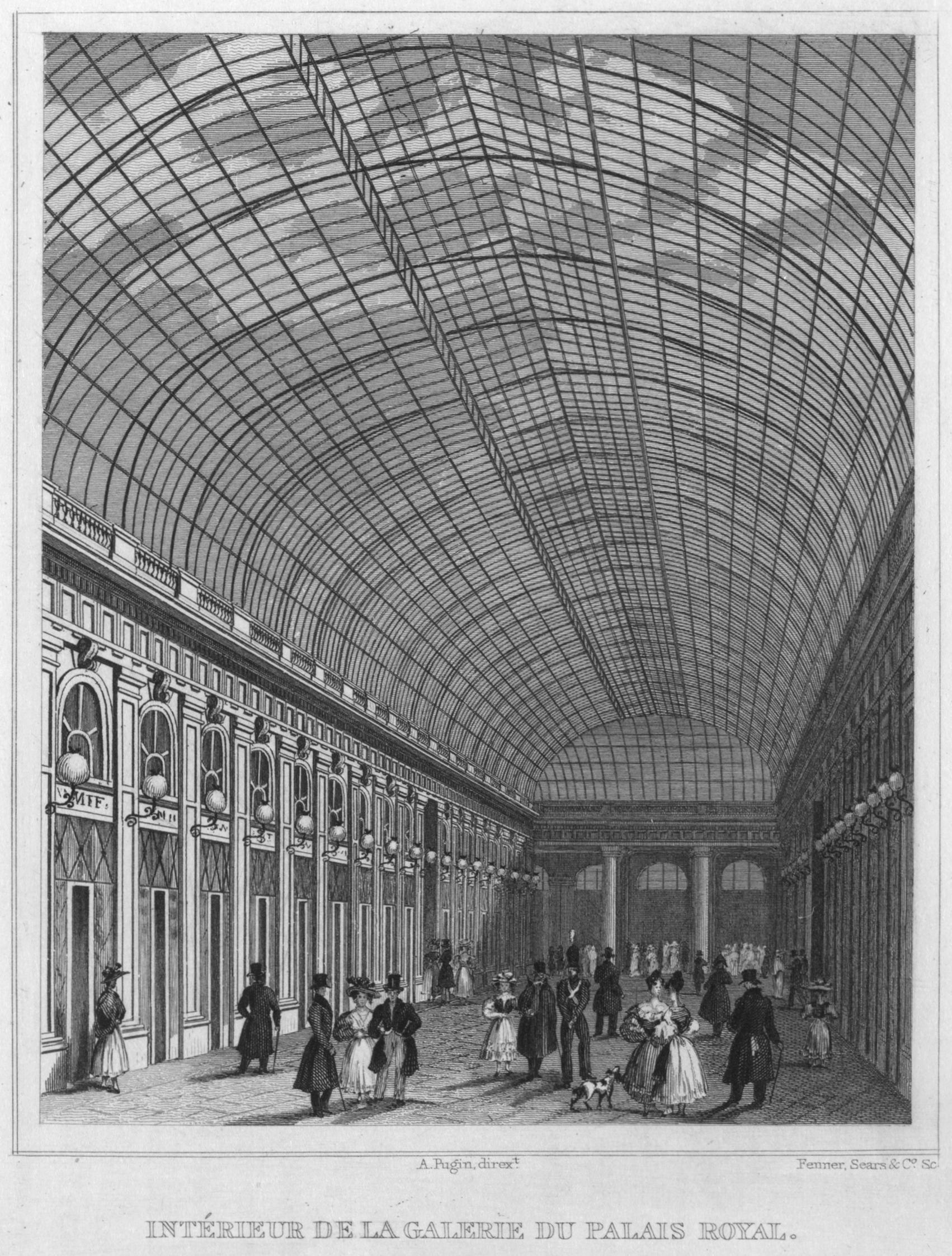 FileGalerie Of The Palais Royal Interior 1831jpg
