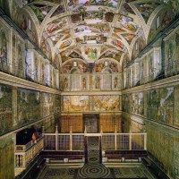 The Sistine Chapel In 3D