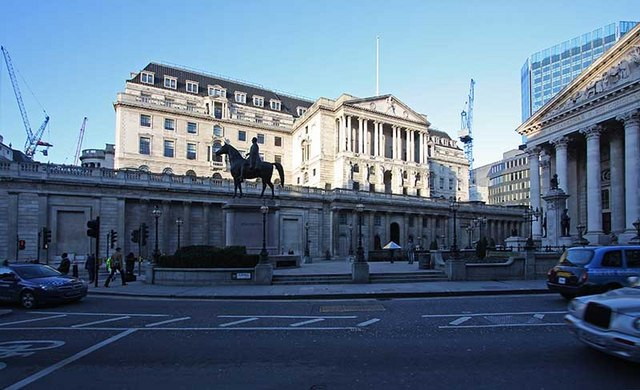 English: Bank of England, City of London EC3