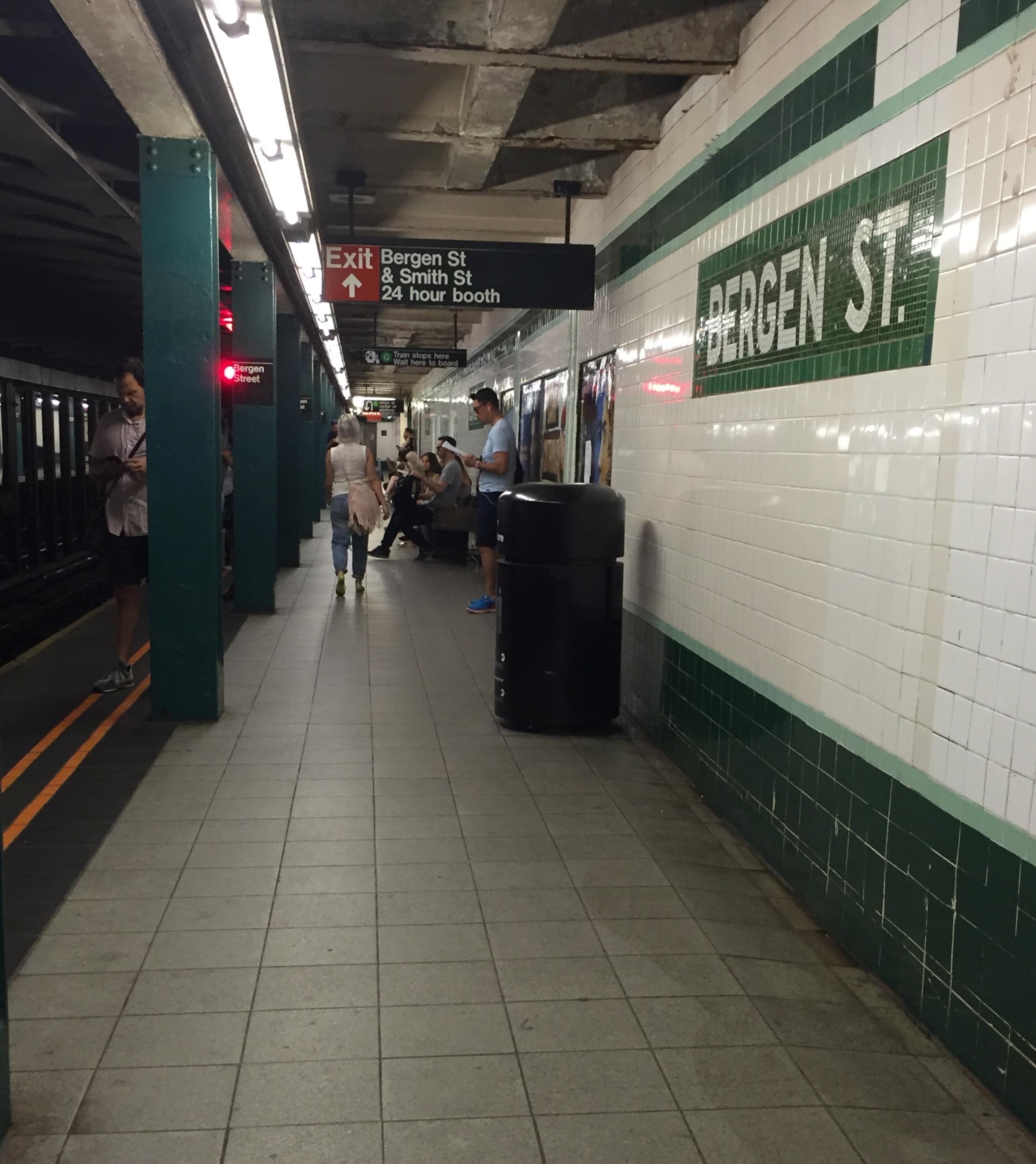 bergen street station ind culver line