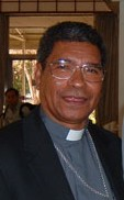 Bishop Carlos Belo, winner of the 1996 Nobel P...