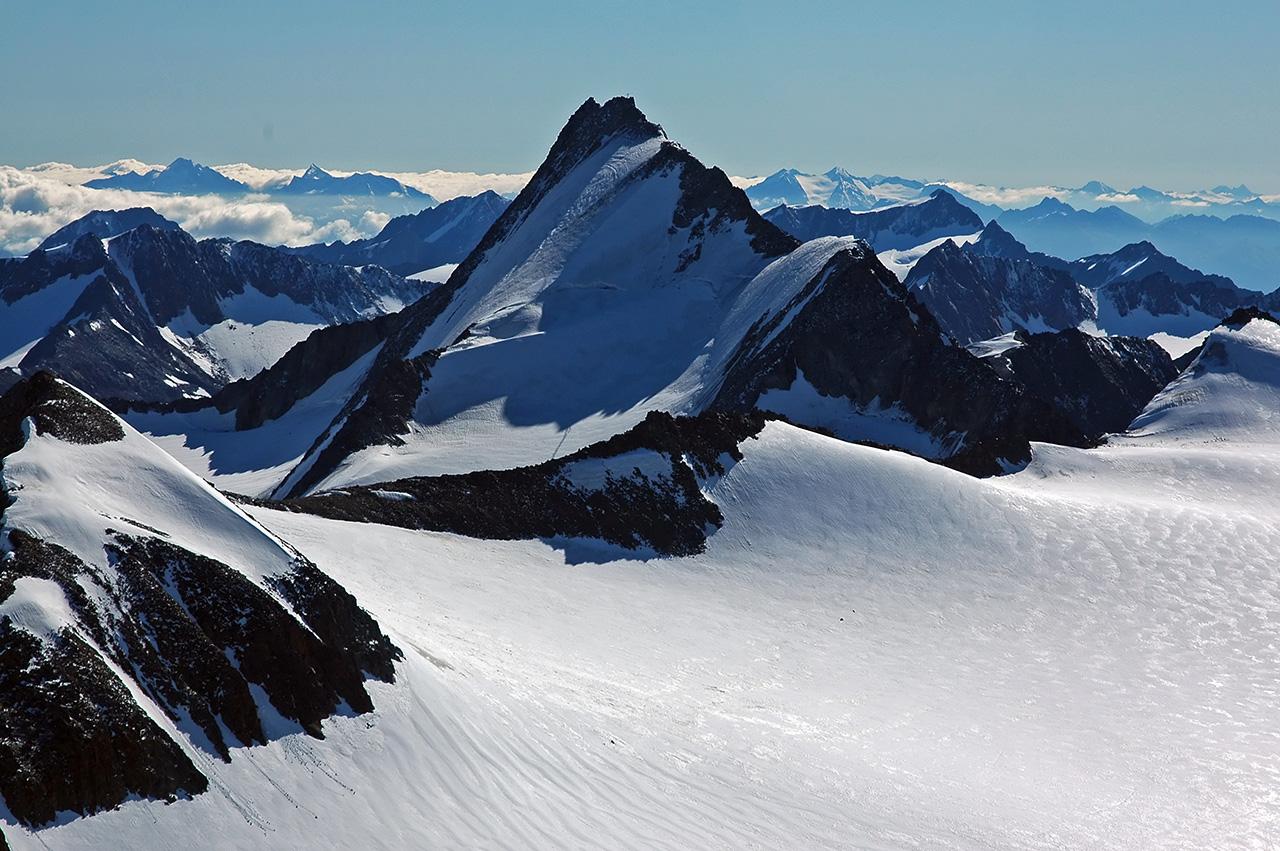 Hintere Schwärze, the third highest peak in the Ötztal Alps