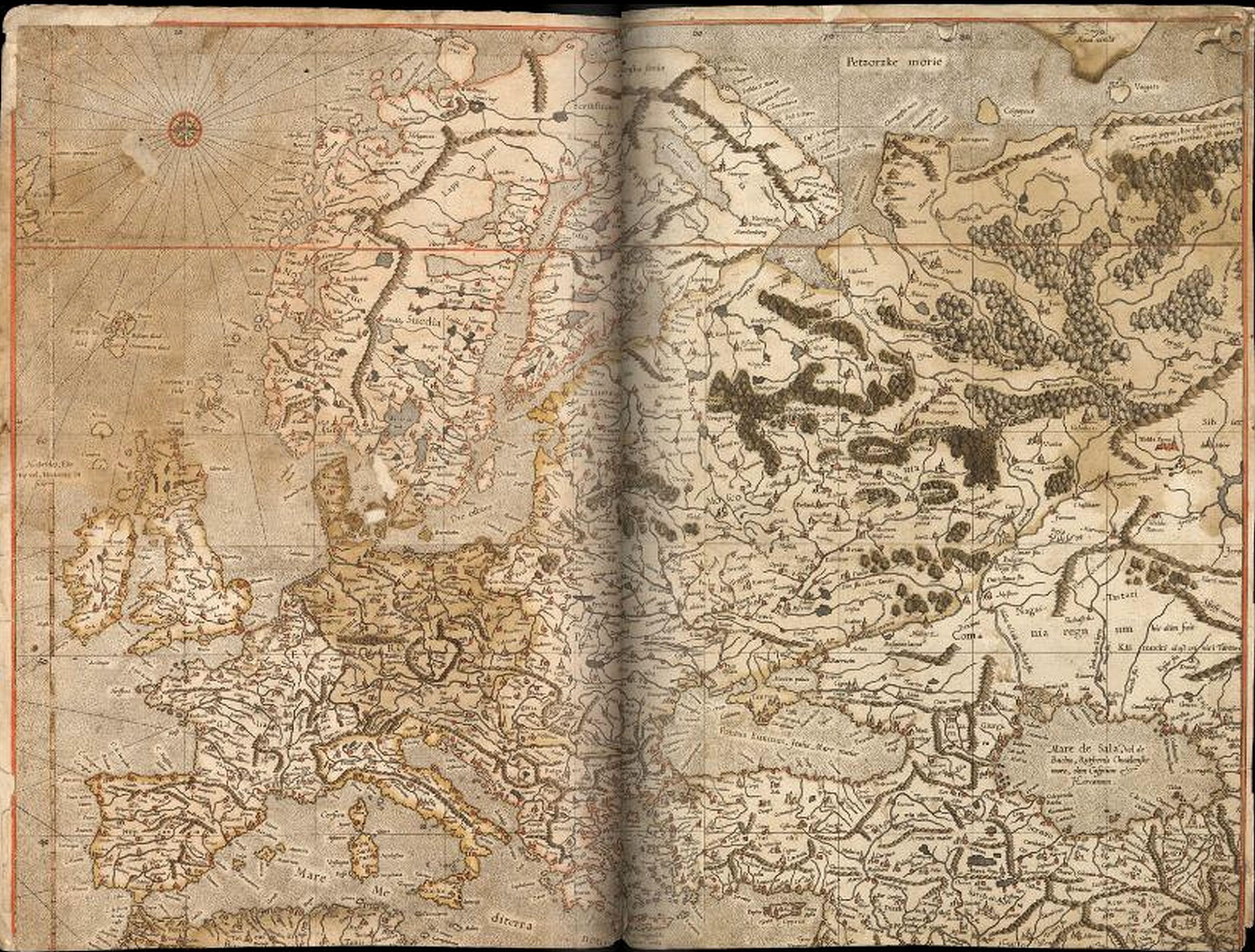 Archivo:MercatormapFullEurope16thcentury.jpg