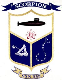 Insignia of USS Scorpion