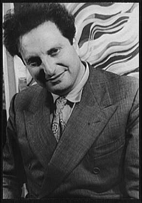 Portrait de Carlo Levi by Carl Van Vechten, ph...