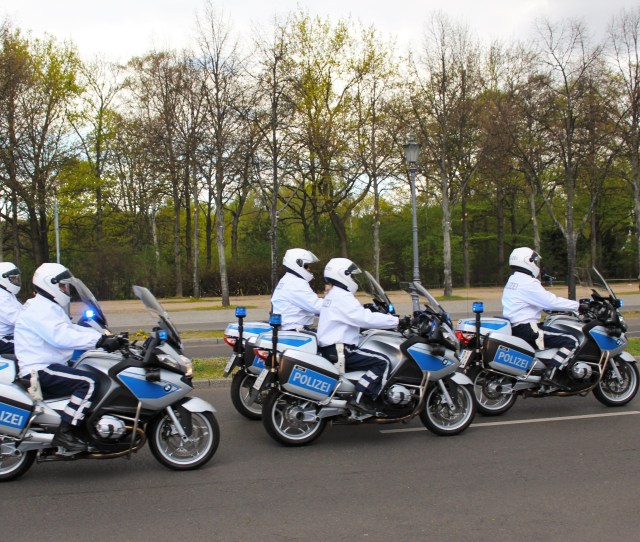Filepolice Escort In Berlin Germany Jpg