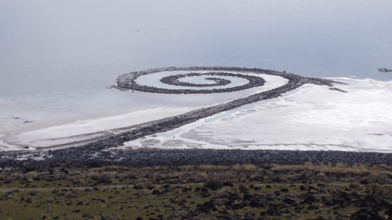 Utah's Spiral Jetty