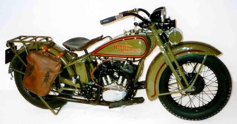 Harley Davidson motorbike