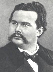 King Ludwig II. of Bavaria, Photo by Joseph Al...
