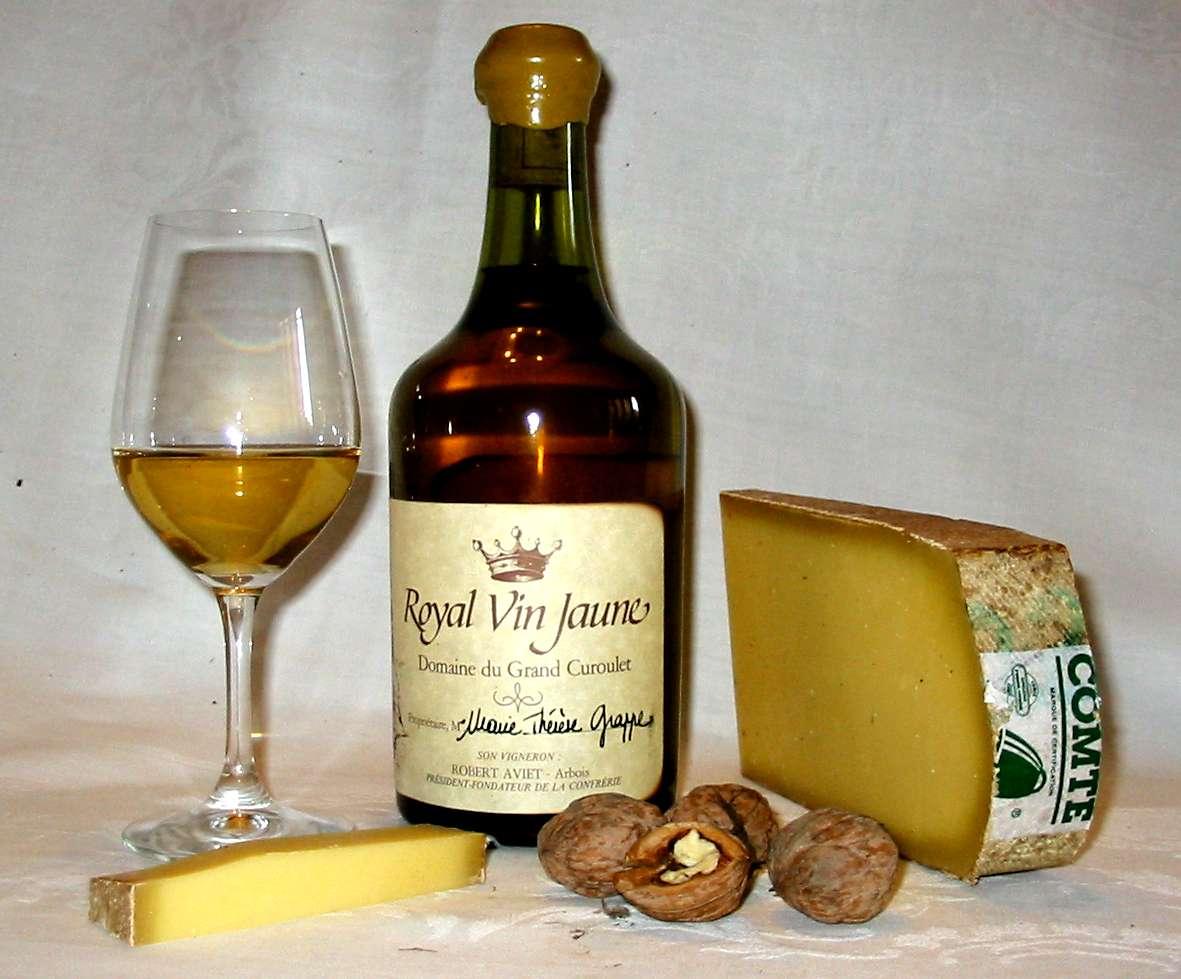 vin jaune wikipedia