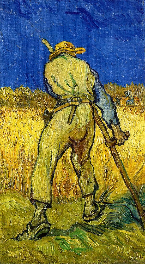 Vincent van Gogh - The Reaper.jpg : フィンセント・ファン・ゴッホ/Vincent ...