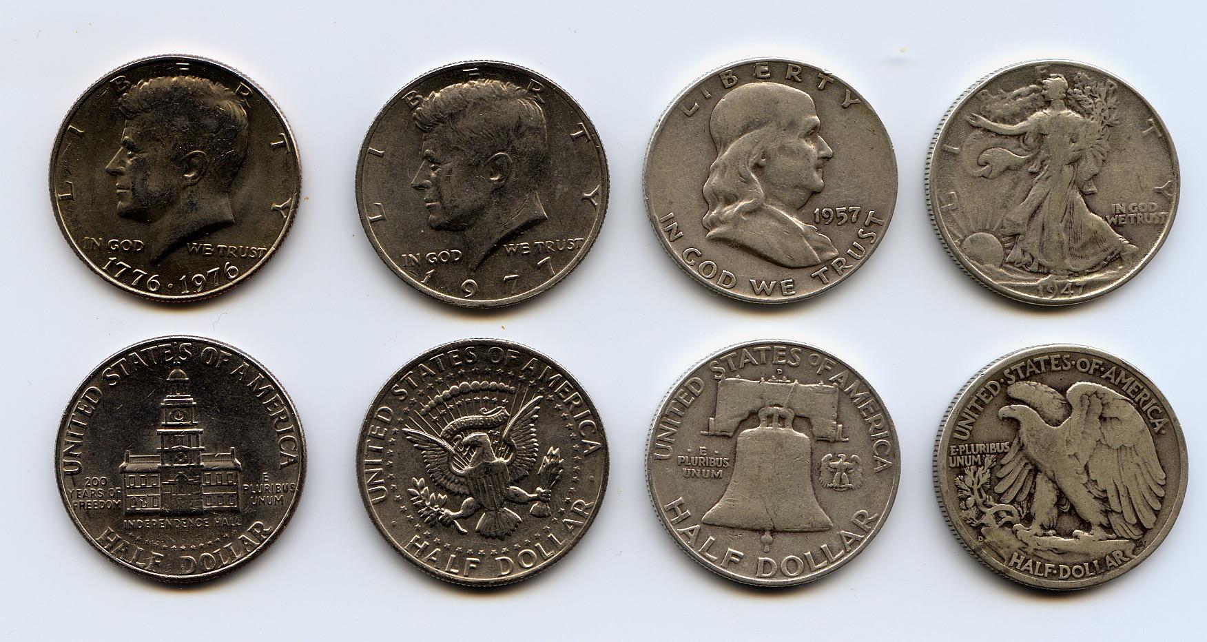 Half Dollar United States Coin