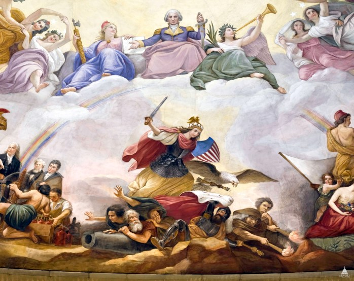 Image result for apotheosis of george washington