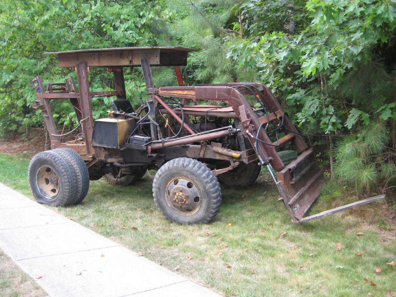 FileHomemade Tractorjpg
