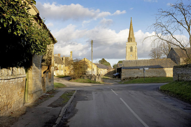The Crossroads in Great Wolford