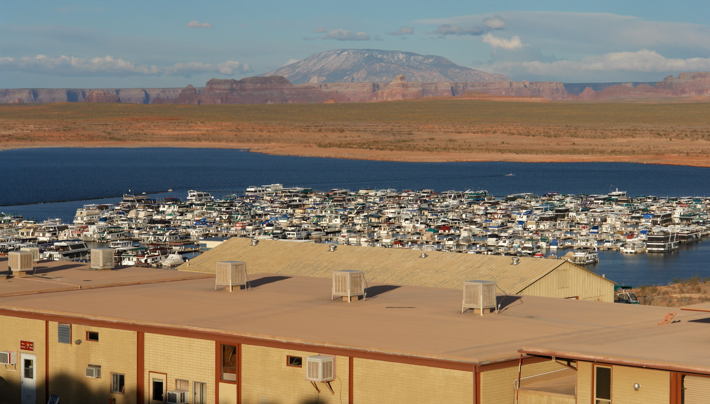 FileAbove The Marina On Lake Powell Near Page Arizona
