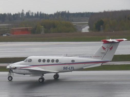 Bildresultat för king air 200 scandinavian air ambulance