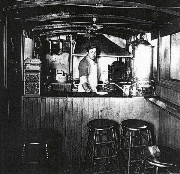 Louis Lunch Wagon