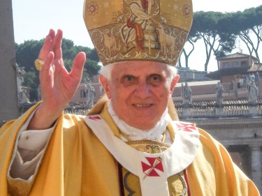 Image result for pope benedict