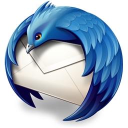 Español: Logitipo del proyecto Thunderbird