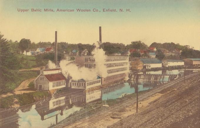 Upper Baltic Mill, American Woolen Co. from Wikipedia