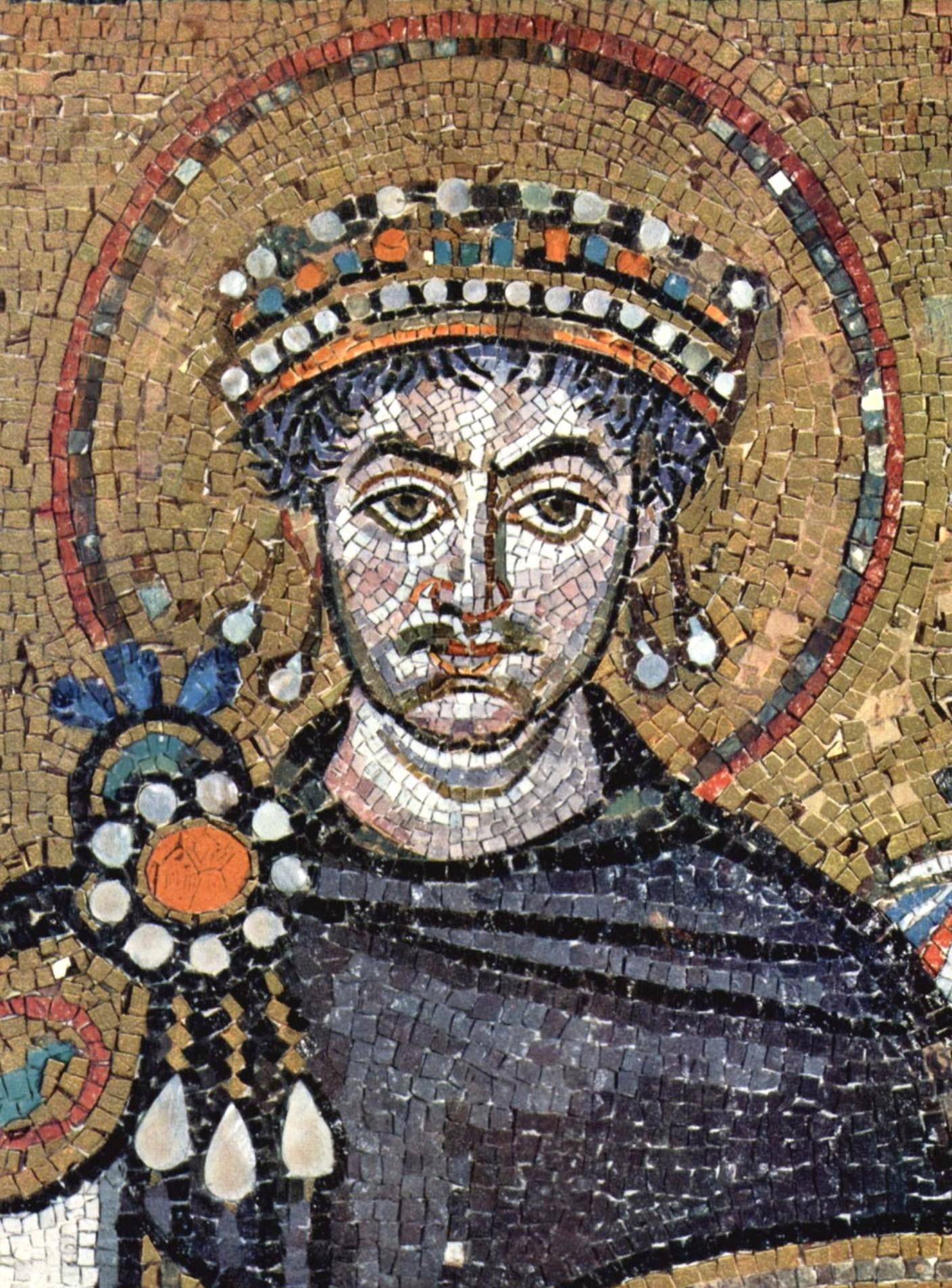 Justinian I , San Vitale (Ravenna).