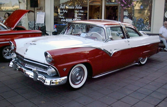 1955 ford cars » File 1955 Ford Crown Victoria 2 jpg   Wikimedia Commons File 1955 Ford Crown Victoria 2 jpg