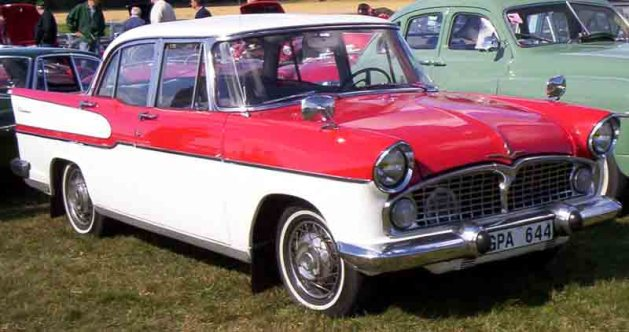 1958 ford cars »                  Vedette