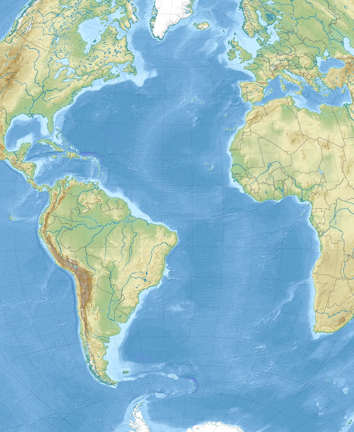 Atlantic Countries On A Map Map Quiz