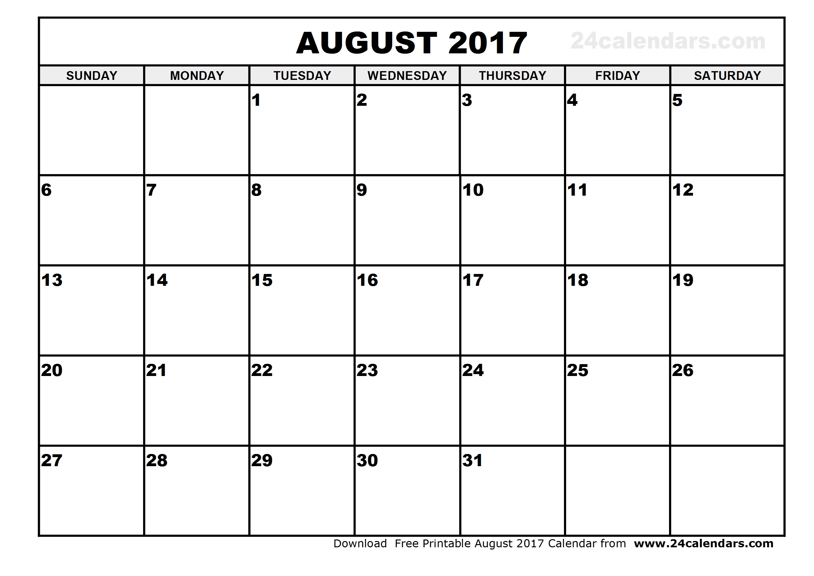 File Month Of August