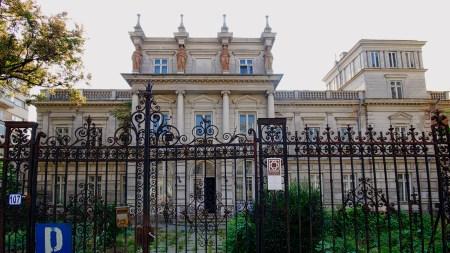 Eden Garden Caffe - Stirbey Palace | Walking through Bucharest