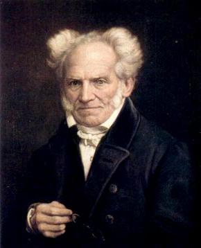 Arthur Schopenhauer (1788 - 1860) Portrait by Jules Lunteschütz