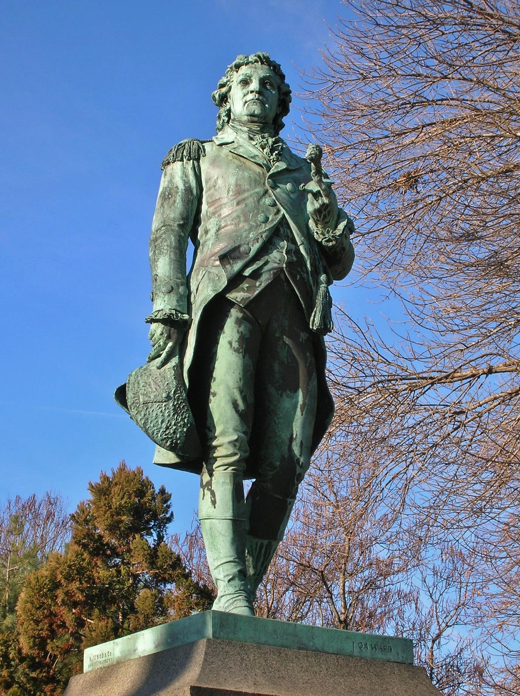 File Statue Of Israel Putnam By John Quincy Adams Ward In
