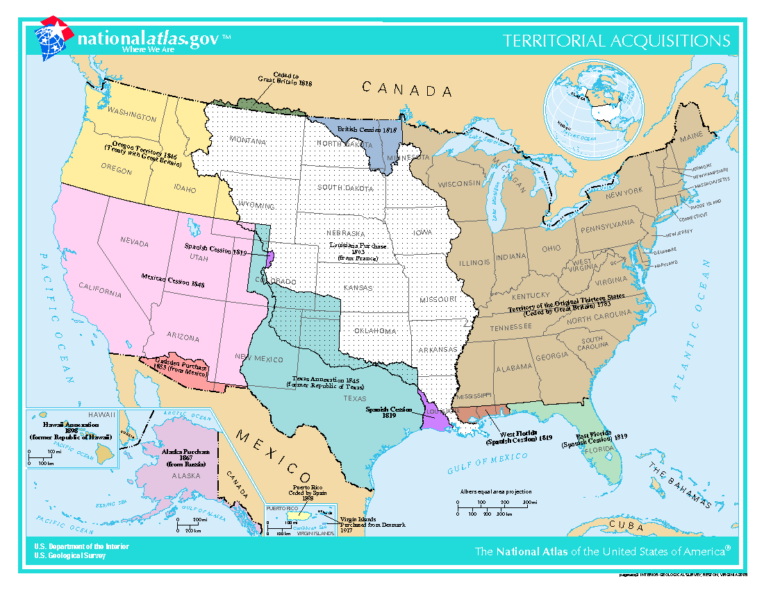 Outline Of The United States