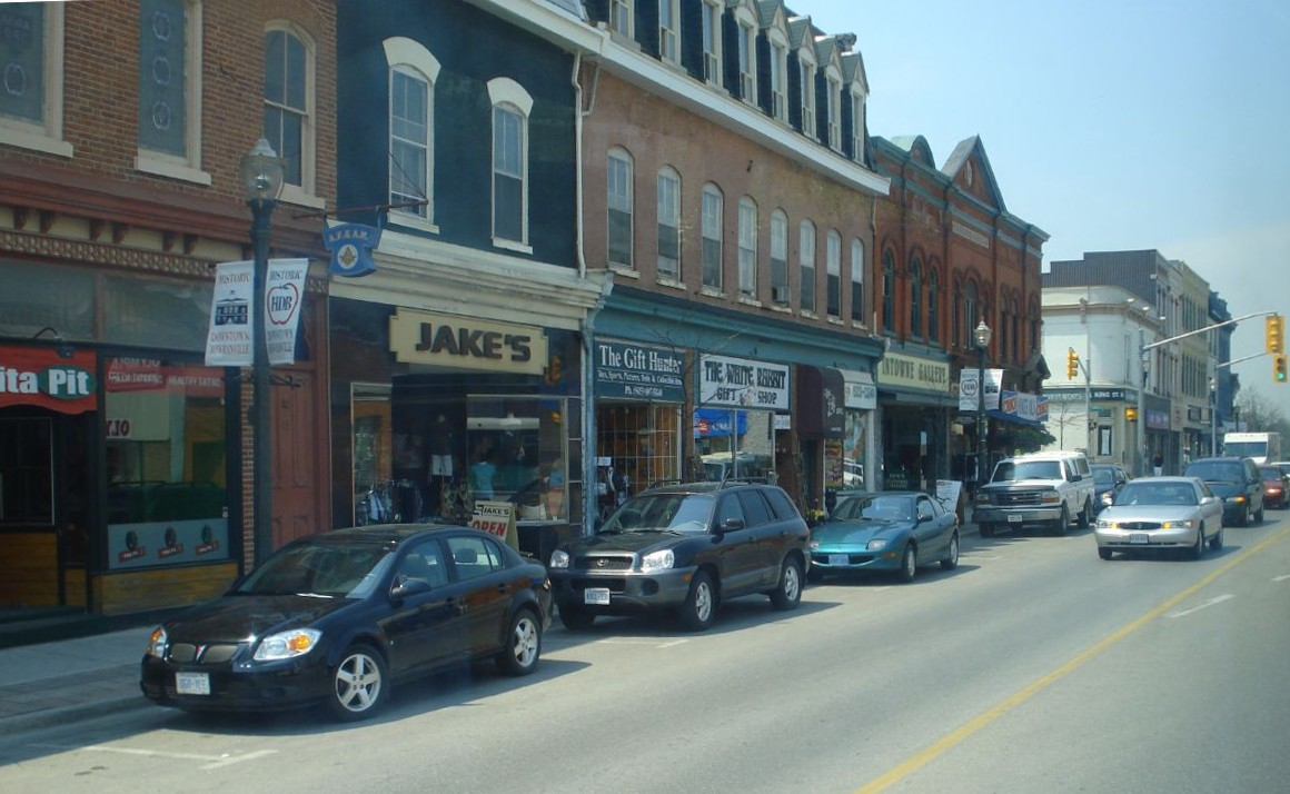 Downtown Bowmanville, Ontario - King St.