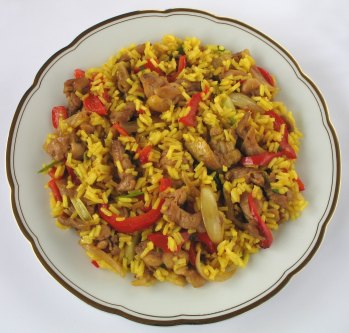 Nasi Goreng - Nationalrätt Indonesien
