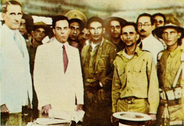 Resultado de imagen para foto del general fulgencio batista el 4 de septiembre de 1933