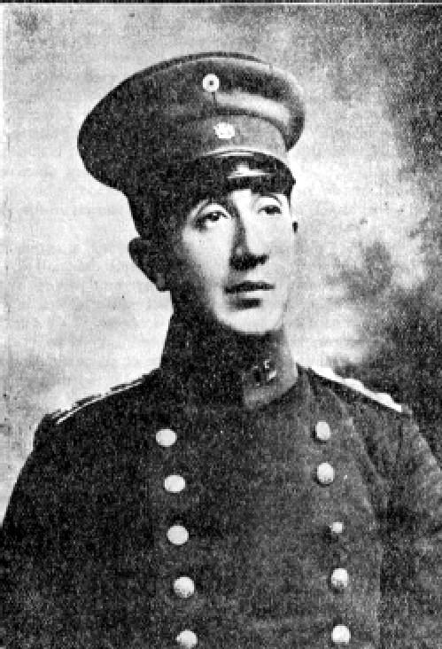 El teniente 1º Alejandro Bello Silva (Fuente: Wikipedia-Memoria Chilena)