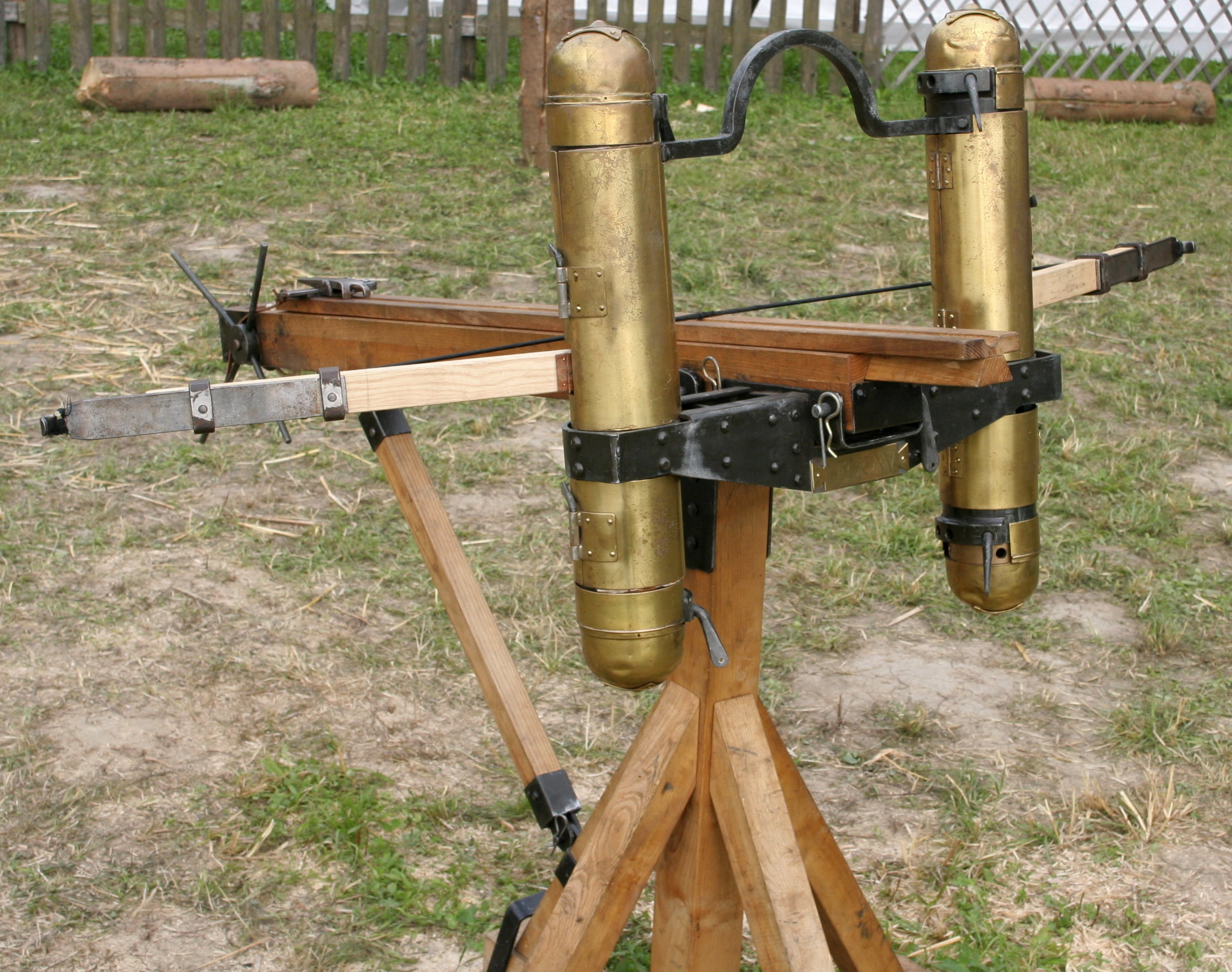 Modern reconstruction of a Ballista.