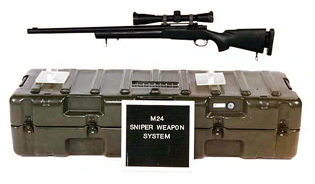 狙擊步槍-M24 - a98018701的創作 - 巴哈姆特