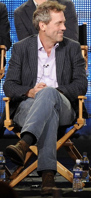 Hugh Laurie during the HOUSE session of the 20...