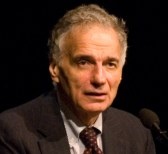 Ralph Nader, speaking at BYU's Alternate Comme...