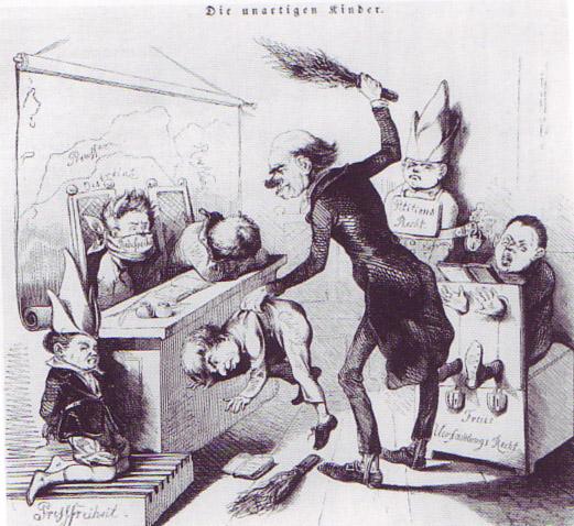 File:1849 - Karikatur Die unartigen Kinder.jpg