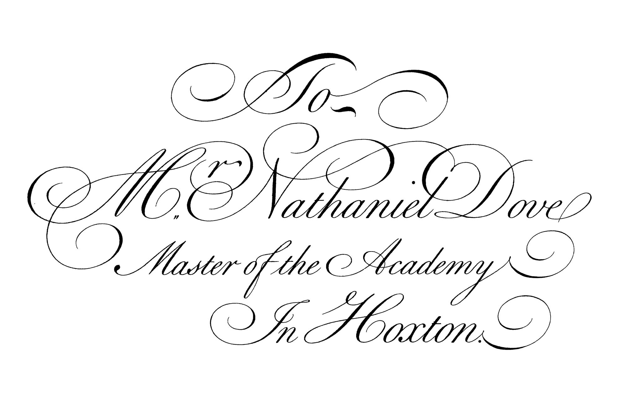 File Bickham Letter Detail