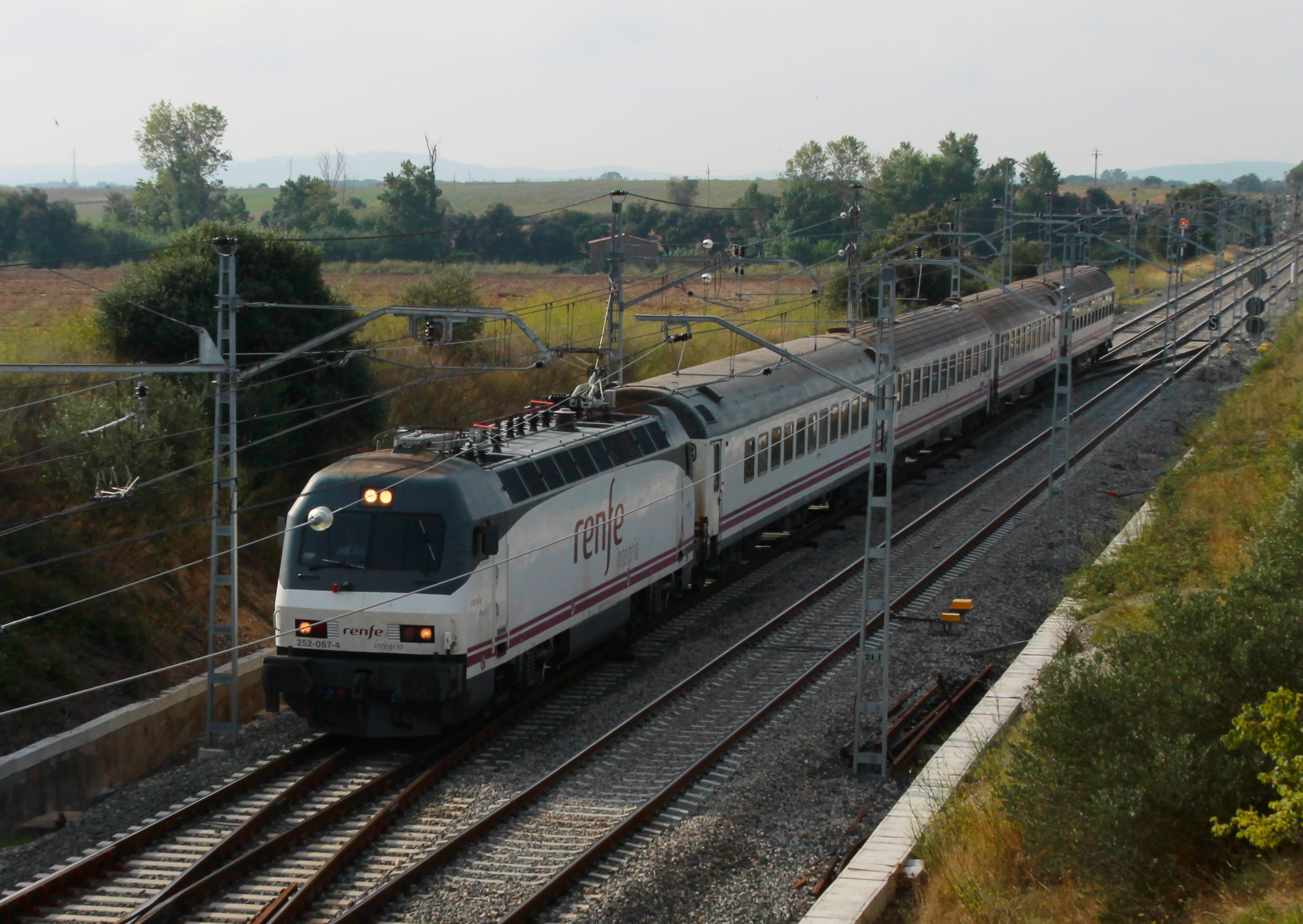 Tren Estrella Costa Brava Madrid-Cérbere
