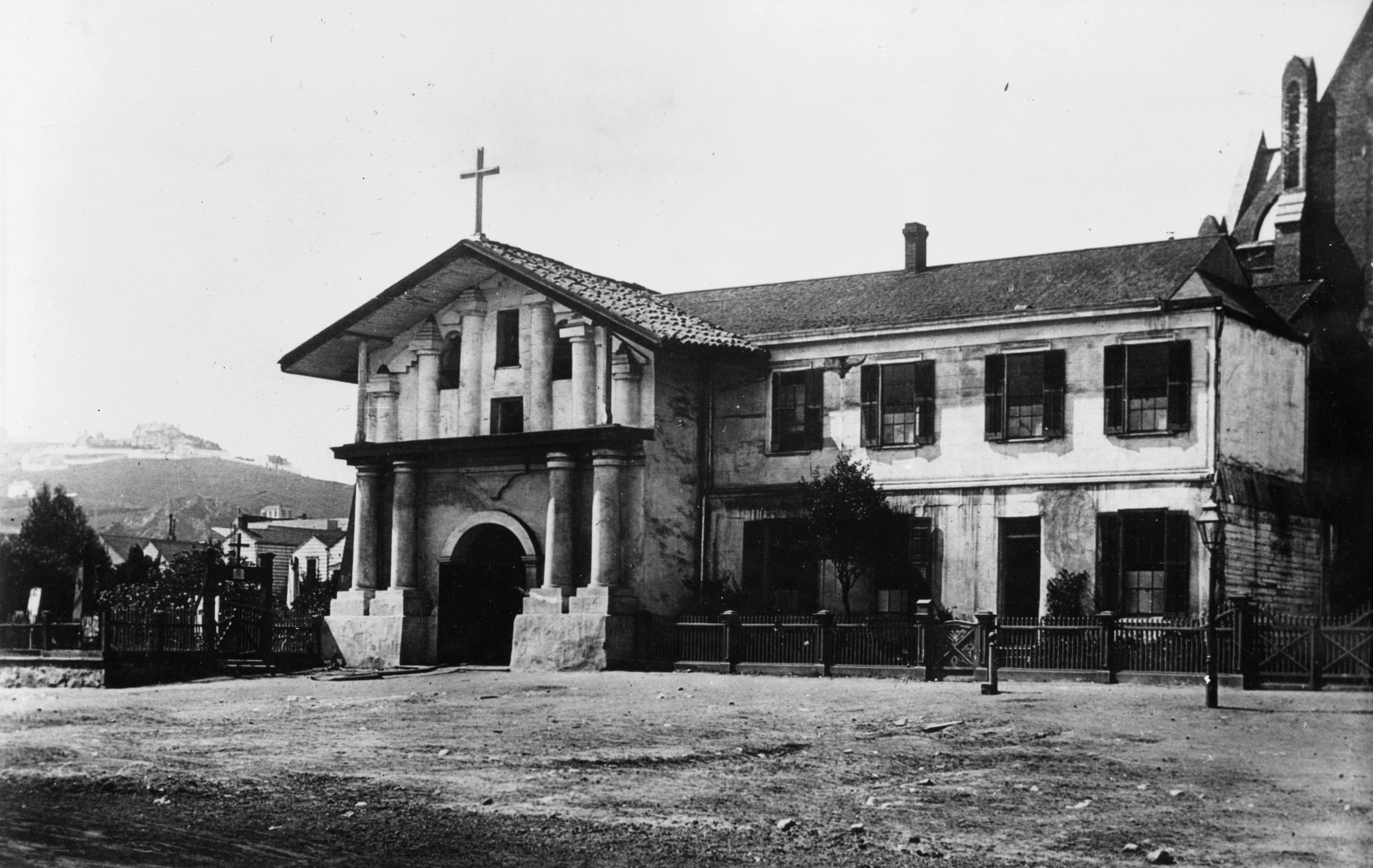 Archivo:Mission San Francisco de Asis old.jpg