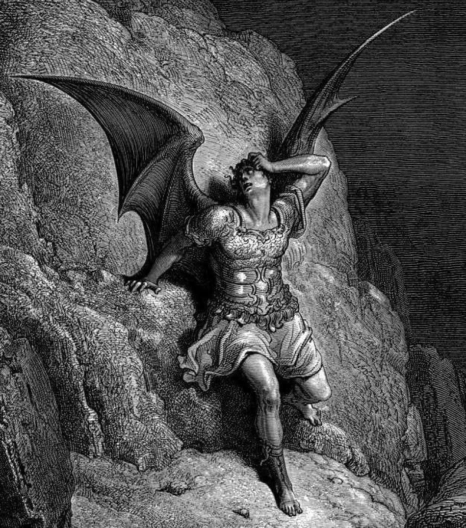 Lucifer by Gustave Doré