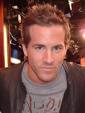 English: Ryan Reynolds on set Svenska: Ryan Re...